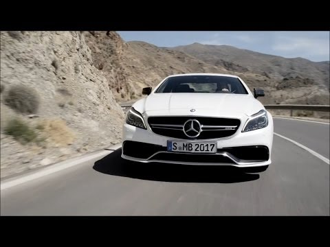 Mercedes-Benz 2015 CLS 63 AMG Coupé Road And Interior Trailer