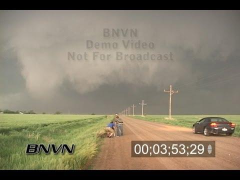 5/22/2008 Sheridan County Kansas Tornado Video - Extended Edit