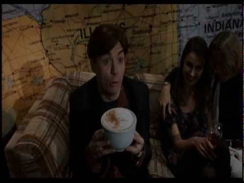 So I Married an Axe Murderer: Mike Myers receives giant cup of coffee
