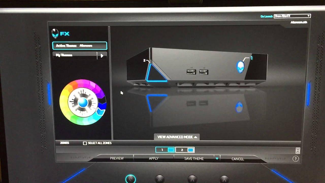 Alienware 18 Colors Color of Alienware Alpha
