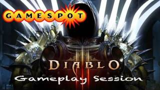 Diablo III Beta Gameplay Session