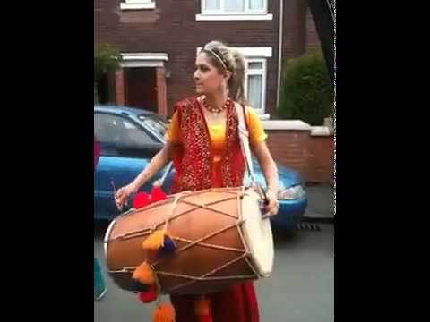 American Dholi - Dhol And  Hip Hop Mix By An American Girl video