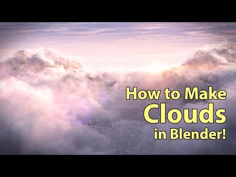 Clouds Tutorial for Blender Cycles