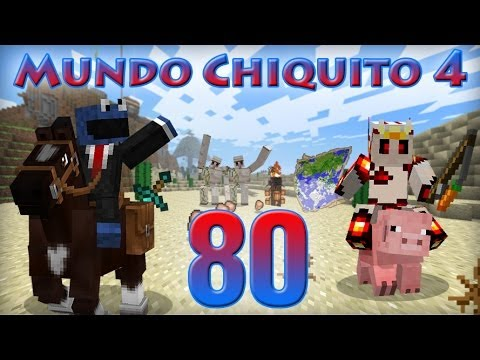 MINECRAFT - Mundo Chiquito 4 - Ep 80 - The Incredible Machine en Minecraft -