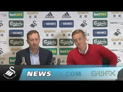 Swans TV - Garry Monk and Huw Jenkins
