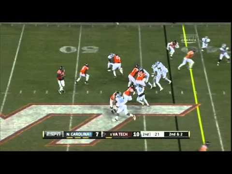 Quinton Coples vs Virginia Tech 2011