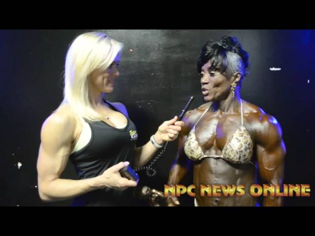 Pauline Nelson Women's Bodybuilding Open Overall Winner