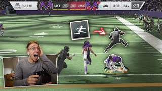 "They Added An Ability Called ""Leapfrog"" To Madden 20...."