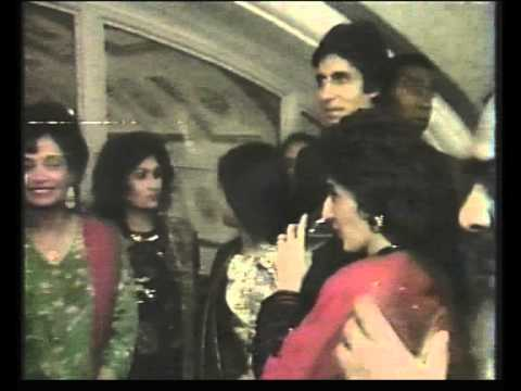 East on BBC 2    Amitabh & Jaya Bachchan in UK April 1990