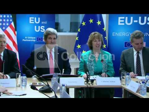 BELGIUM:KERRY ATTENDS E-U ENERGY MEETING