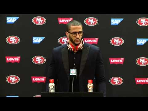 49ers Vs Seahawks Postgame Press Conference - Colin Kaepernick