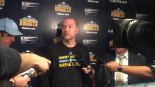 Michael Malone talks Mason Plumlee & Warriors