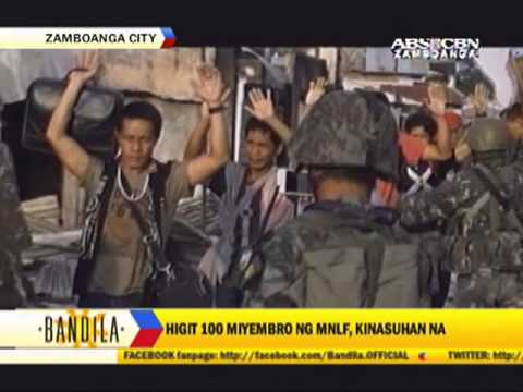 Mnlf Commander, 36 Others Nabbed In Zamboanga video