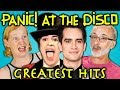 ELDERS READ PANIC! AT THE DISCO'S HIT SONGS (React) -