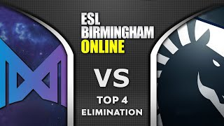 NIGMA vs LIQUID - FIGHT for TOP 4 - ESL One Birmingham 2020 Highlights Dota 2