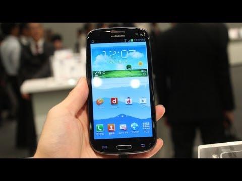 docomo Galaxy S IIIα SC-03E Hands on!1.6Ghz Quad-Core.multi-View!