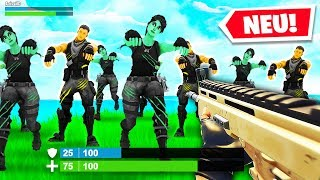 ZOMBIE APOKALYPSE mit 100 Spielern in FORTNITE!