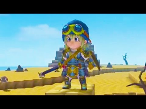 DRAGON QUEST Builders Gameplay Features Trailer (PS4 2016)