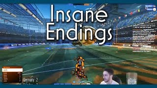 Most Insane Endings to Rocket League Matches