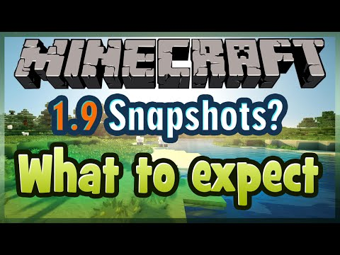"""Minecraft 1.9 Snapshot: NAME CHANGING SHADER FRIENDS LIST """"WHAT TO EXPECT"""