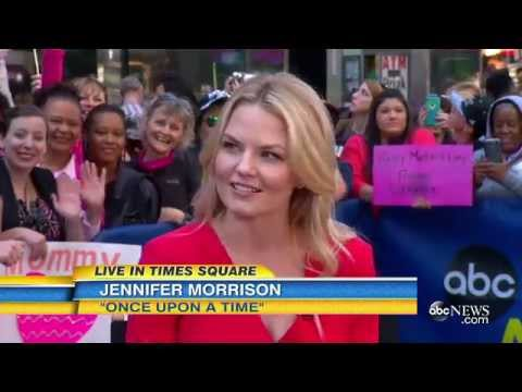 Jennifer Morrison on GMA 8\05\15