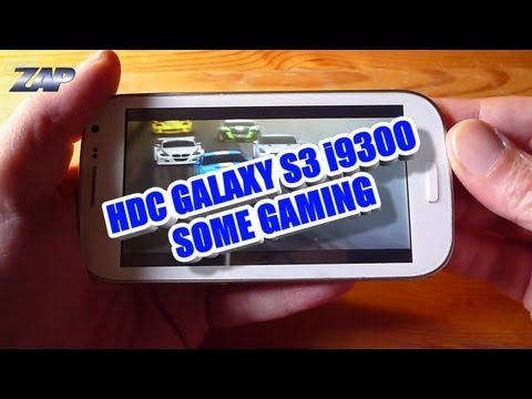 HDC Galaxy S3 i9300 Android MT6575 Gaming Test - Samsung SIII Clone? Fastcardtech - ColonelZap