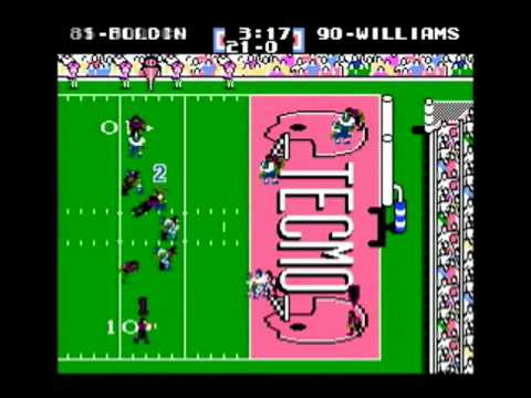 NES Tecmo Super Bowl 2010 - Baltimore Ravens - Week 14
