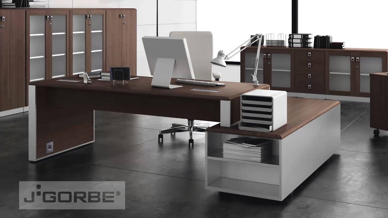 J gorbe muebles de oficina l der 2013 youtube for Muebles de oficina wengue
