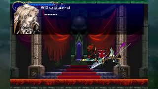 Alucard vs Richter - Castlevania SOTN!!!