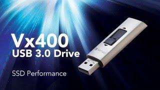 Verbatim Vx400 USB Drive with SSD Performance