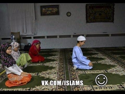 Дети в Исламе... своих внуков мечеть и земной поклон - это лучшая возможность поиграть в лошадку