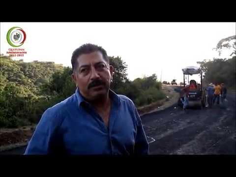 Quitupan Gobierno Municipal - Obras Públicas Carretera Tinaja - San Onofre