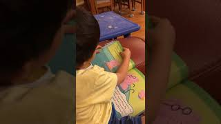 Story time ~ Peppa goes swimming 🏊🏻♀️