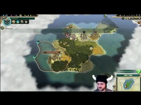 Let's Play Civilization 5 - Denmark [Community Balance Mod!] - Ep 1