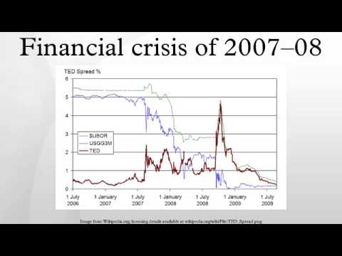 financial crisis 2008 essay