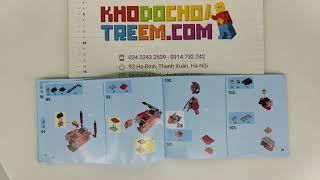 Hướng dẫn lắp ráp Sheng Yuan SY926 Lego Ninjago MOC Kai's Fire Mecha giá sốc rẻ nhất