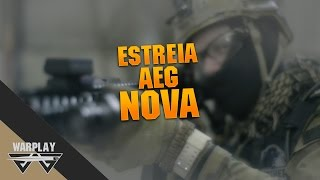 Airsoft #16 - Estreia da nova AEG l FORCE ONE