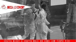 Shatta Michy & Shatta Wale perform 'Low Tempo' @ Becca's 10 years Unveiling Concert