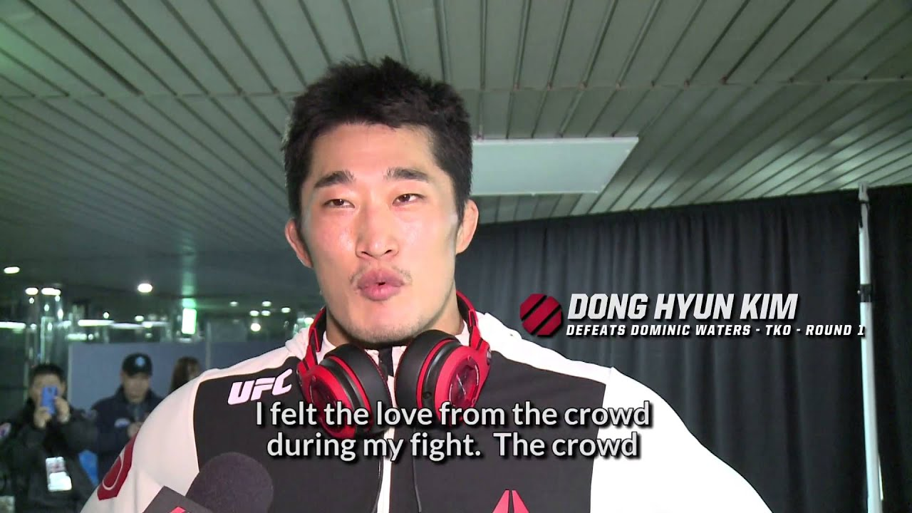 Fight Night Seoul: Dong Hyun Kim Backstage Interview