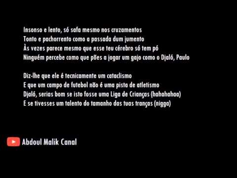 Valete - Baza Correr com o Paulo Bento (Sporting) [AUDIO+LETRA]