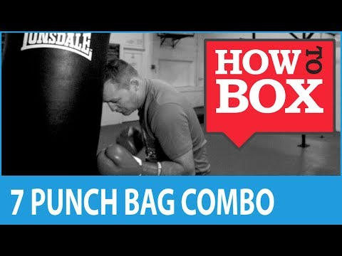 7 Punch Combination for Heavy Bag Boxing Drills Image 1