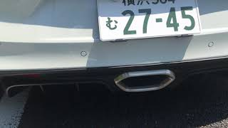 ALPINE A110 Sports Exhaust On