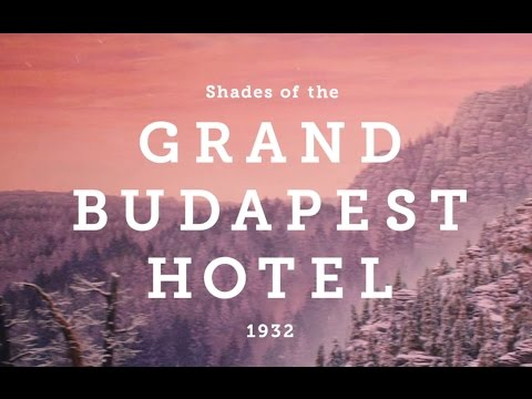 Shades Of The Grand Budapest Hotel