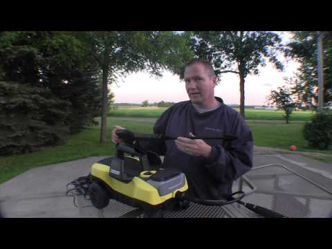#Karcher K3 FollowMe Pressure Washer: by John Young of the Weekend Handyman