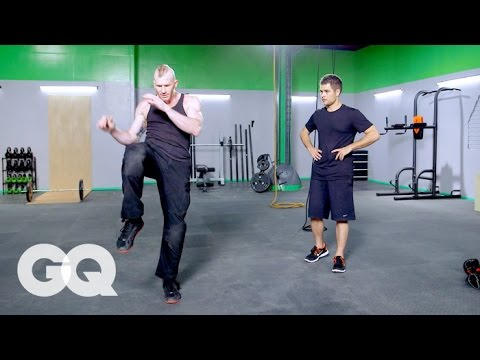 MUAY THAI: At-Home Leg Workout -- GQ's Fighting Weight Series Image 1