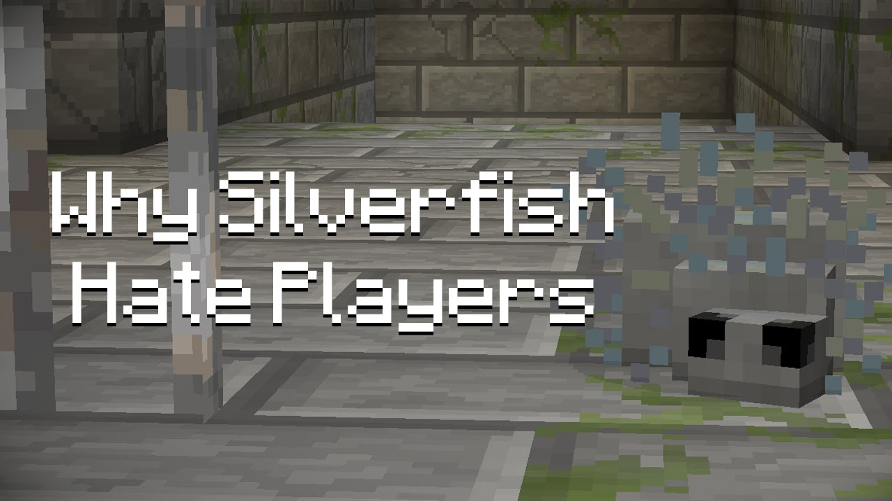 Why Silverfish Hate Players Minecraft YouTube
