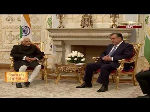 Vice President Hamid Ansari's visit to Tajikistan
