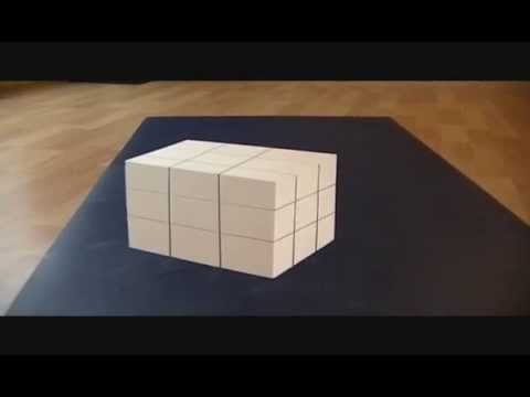 Trippy Illusion Cube Video