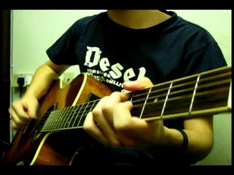 With Or Without You (Sungha Jung/Doyle Dykes Cover) - Kendrick Koh