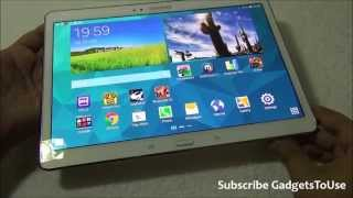 Samsung Galaxy Tab S 10 5 Inch Hardware Benchmark,Gaming Review and Heating Overview